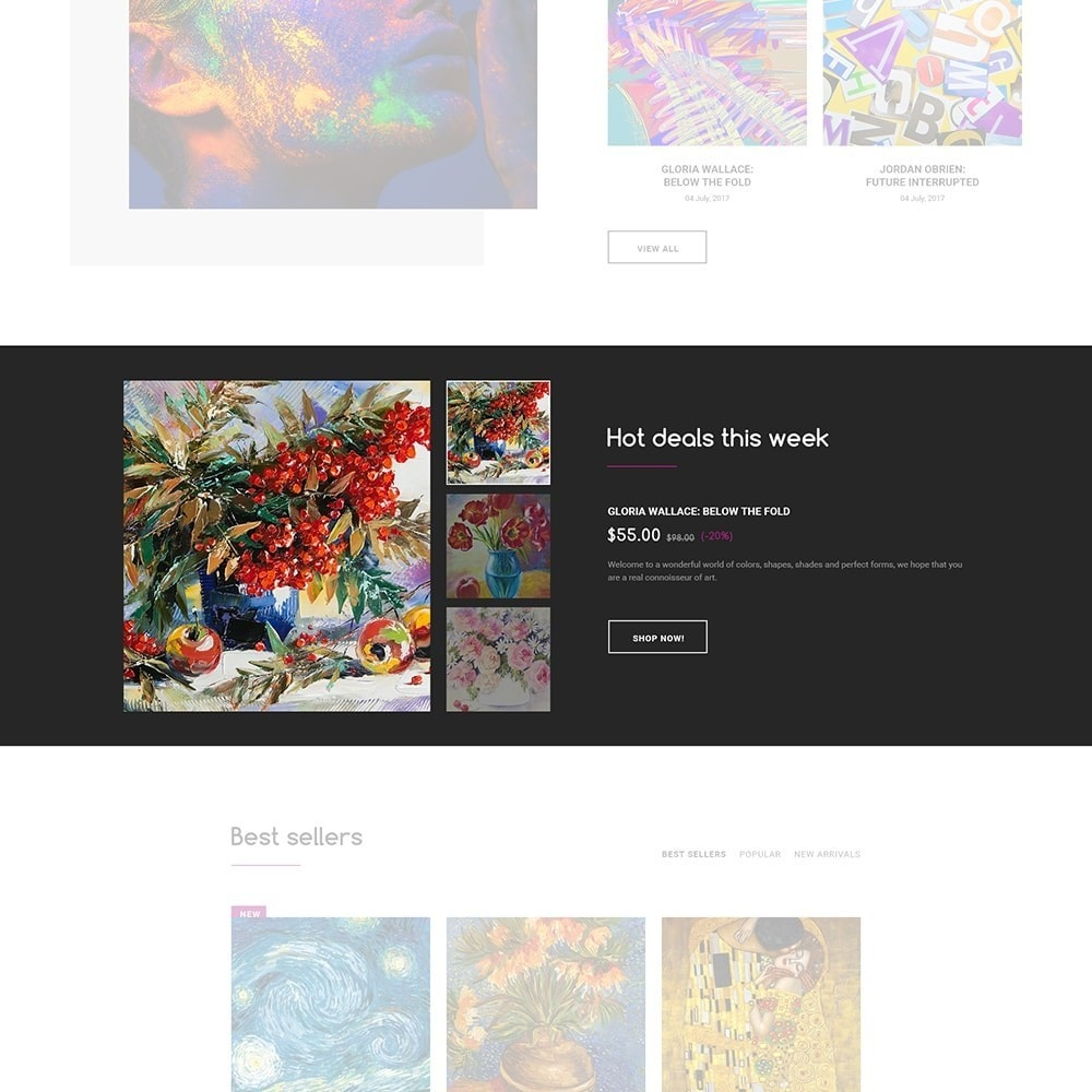 theme - Art & Culture - DeckArt - Responsive Theme - 5