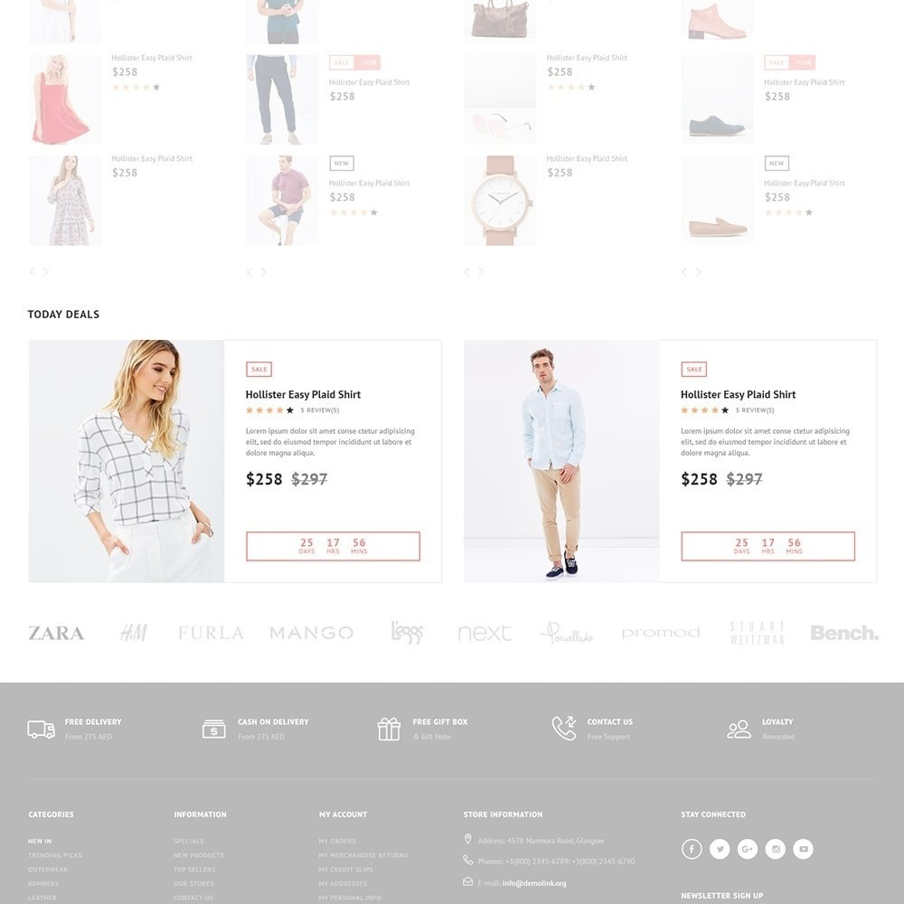theme - Moda & Calzature - Impresta Fashion - PrestaShop Responsive Theme - 2