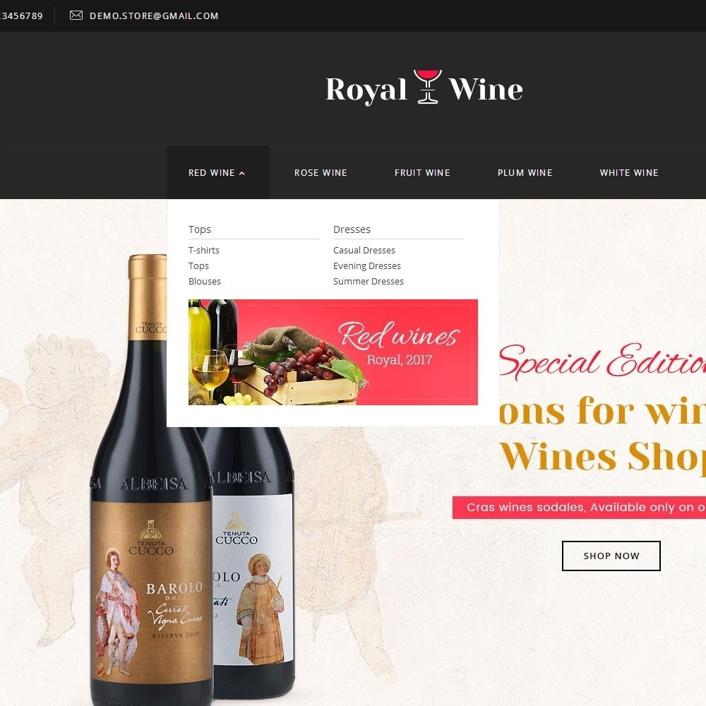theme - Drank & Tabak - Royal Wine - 8