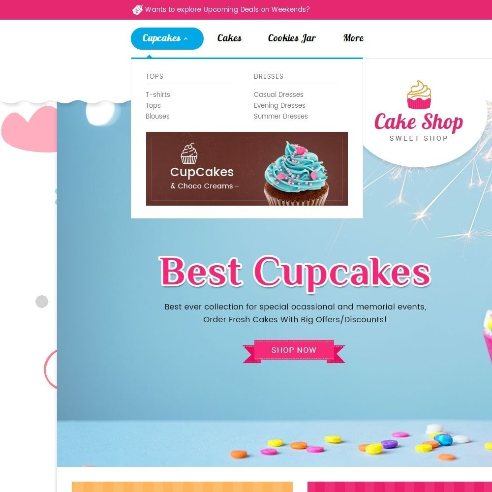 theme - Food & Restaurant - Cake Shop - 8