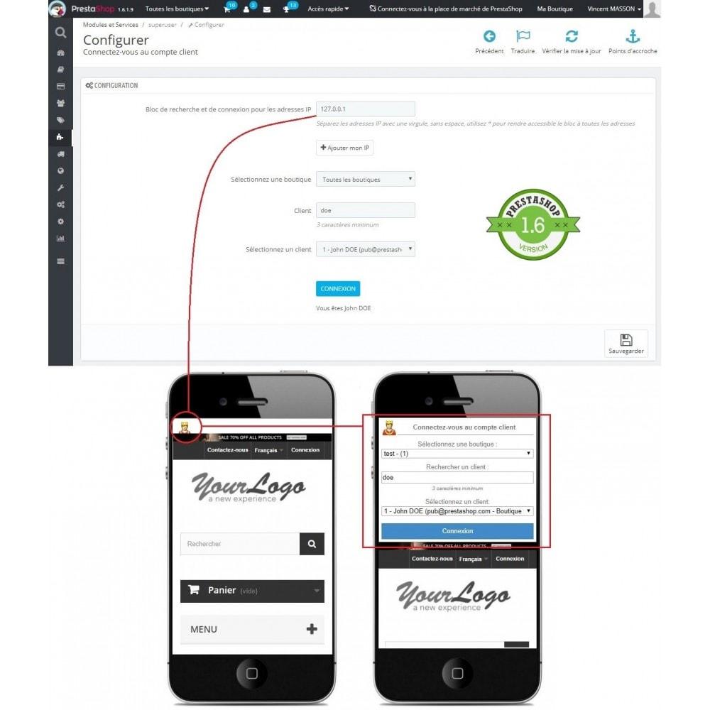 module - Service Client - Connexion au compte client sans mot de passe - 5