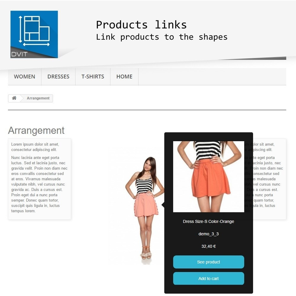 module - Page Customization - Product Arrangement - 4