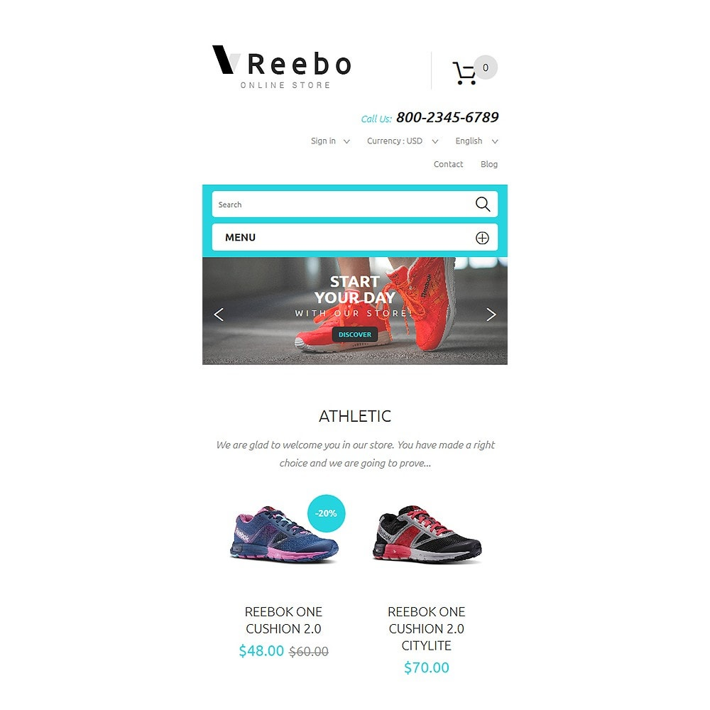theme - Mode & Chaussures - Reebo - 8