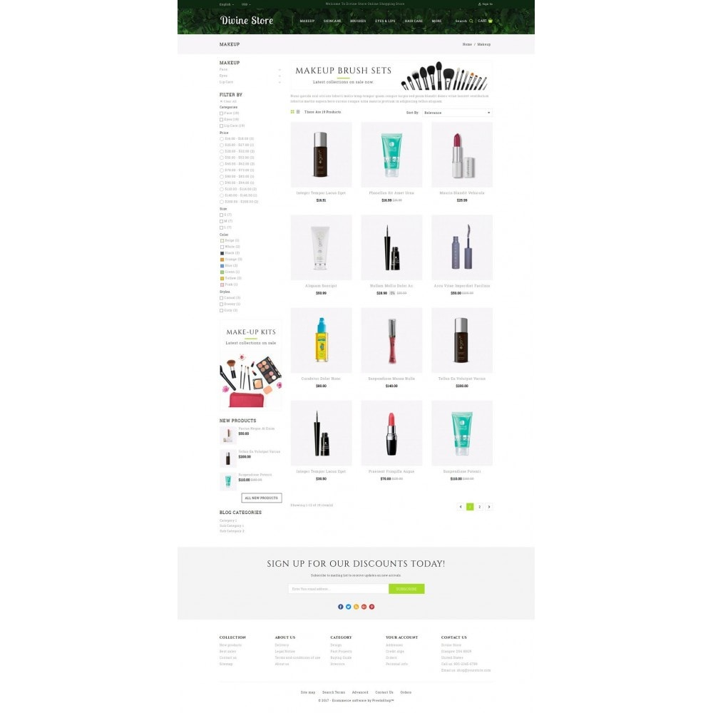 Divine - Beauty Store