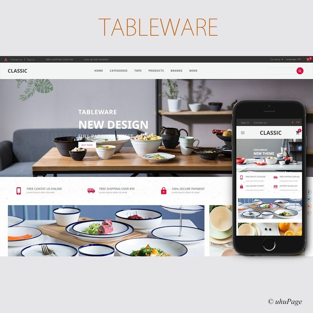 UP Tableware Store