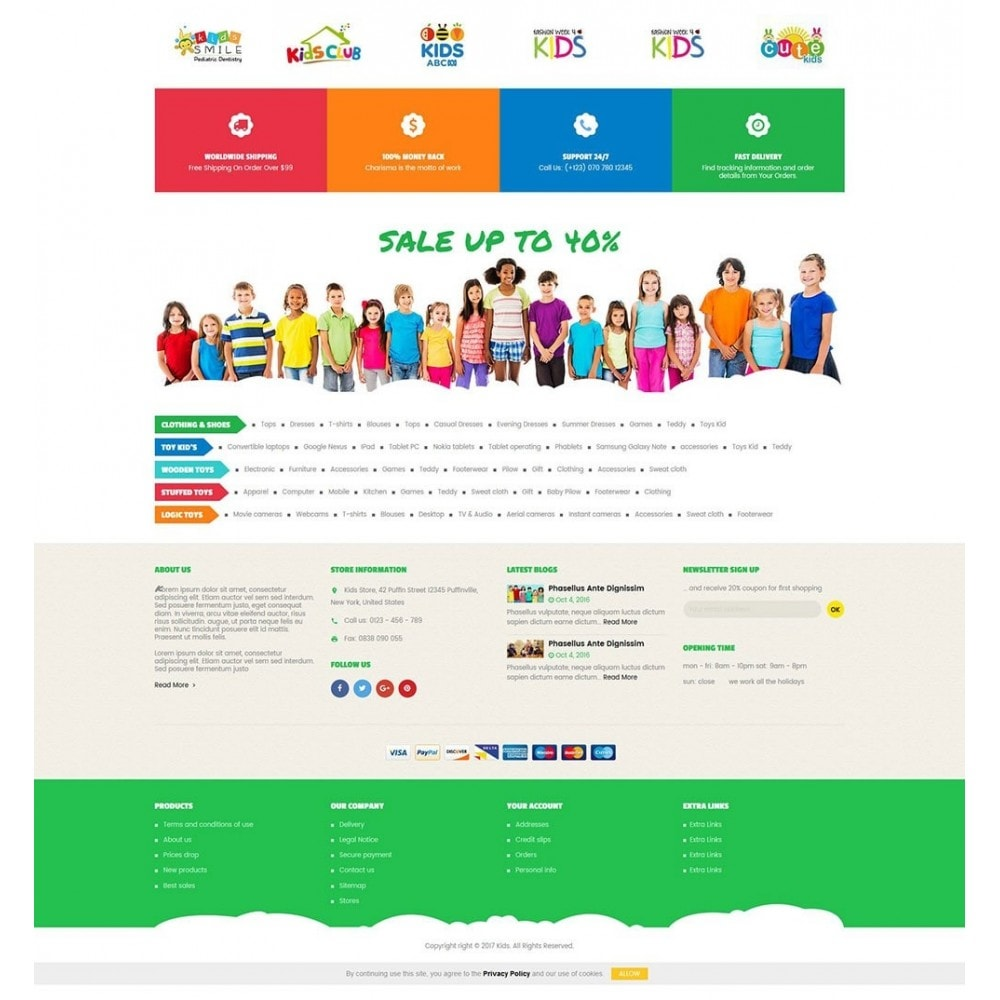 theme - Kids & Toys - Kids Store - 4