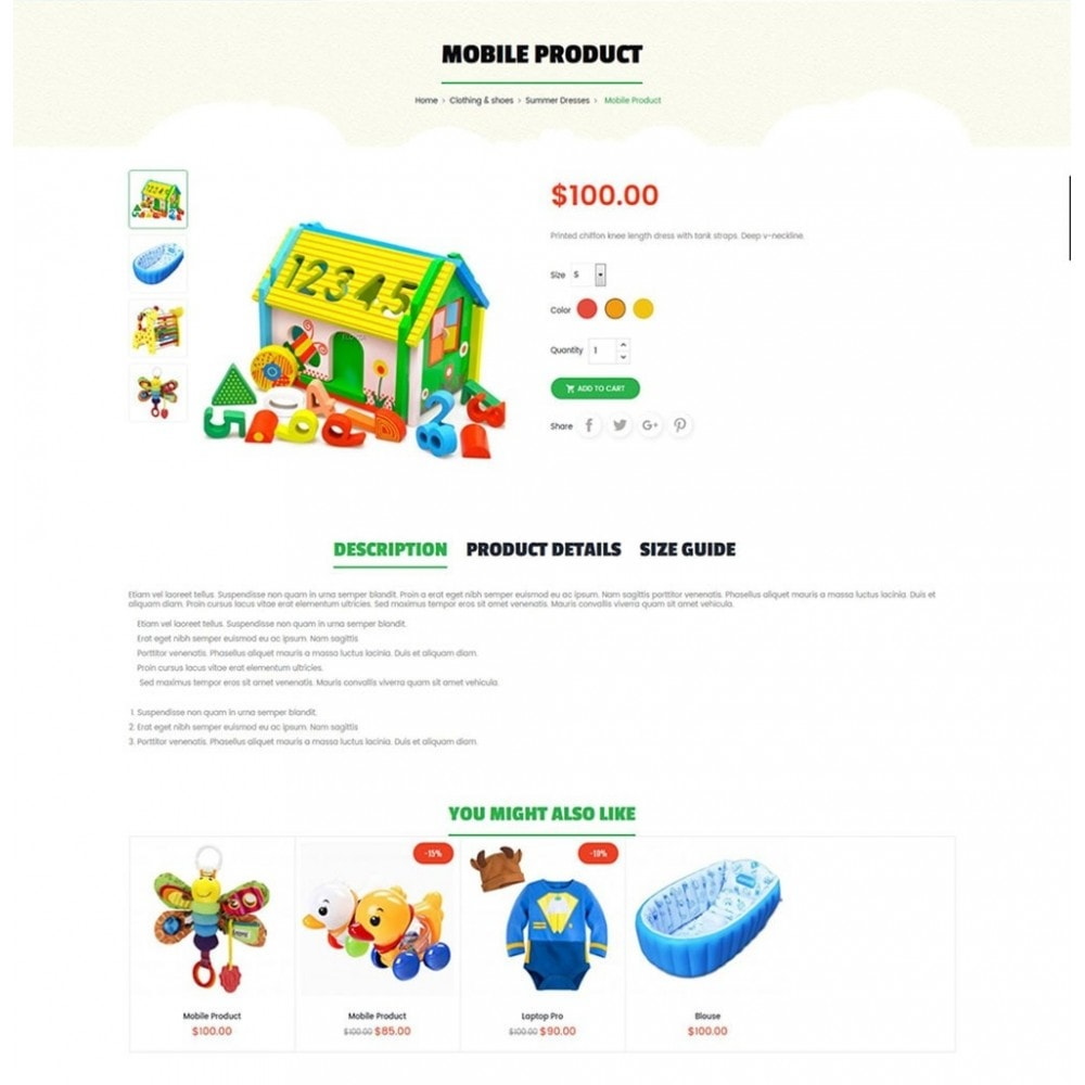 theme - Niños y Juguetes - Kids Store - 6