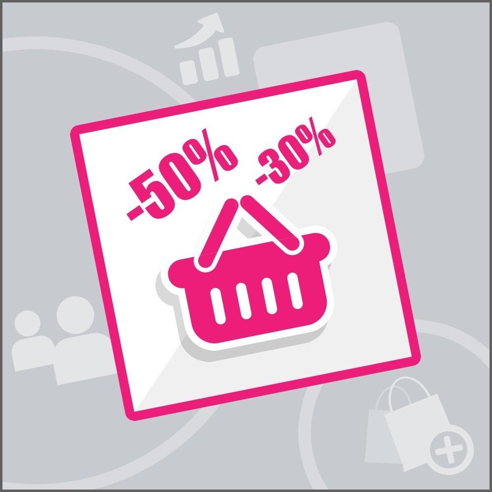 bundle - Nuestras ofertas actuales - ¡Aprovecha y ahorra! - Transformación (Pack) : Recordatorio de carritos abandonados + Promo Carrito - 2