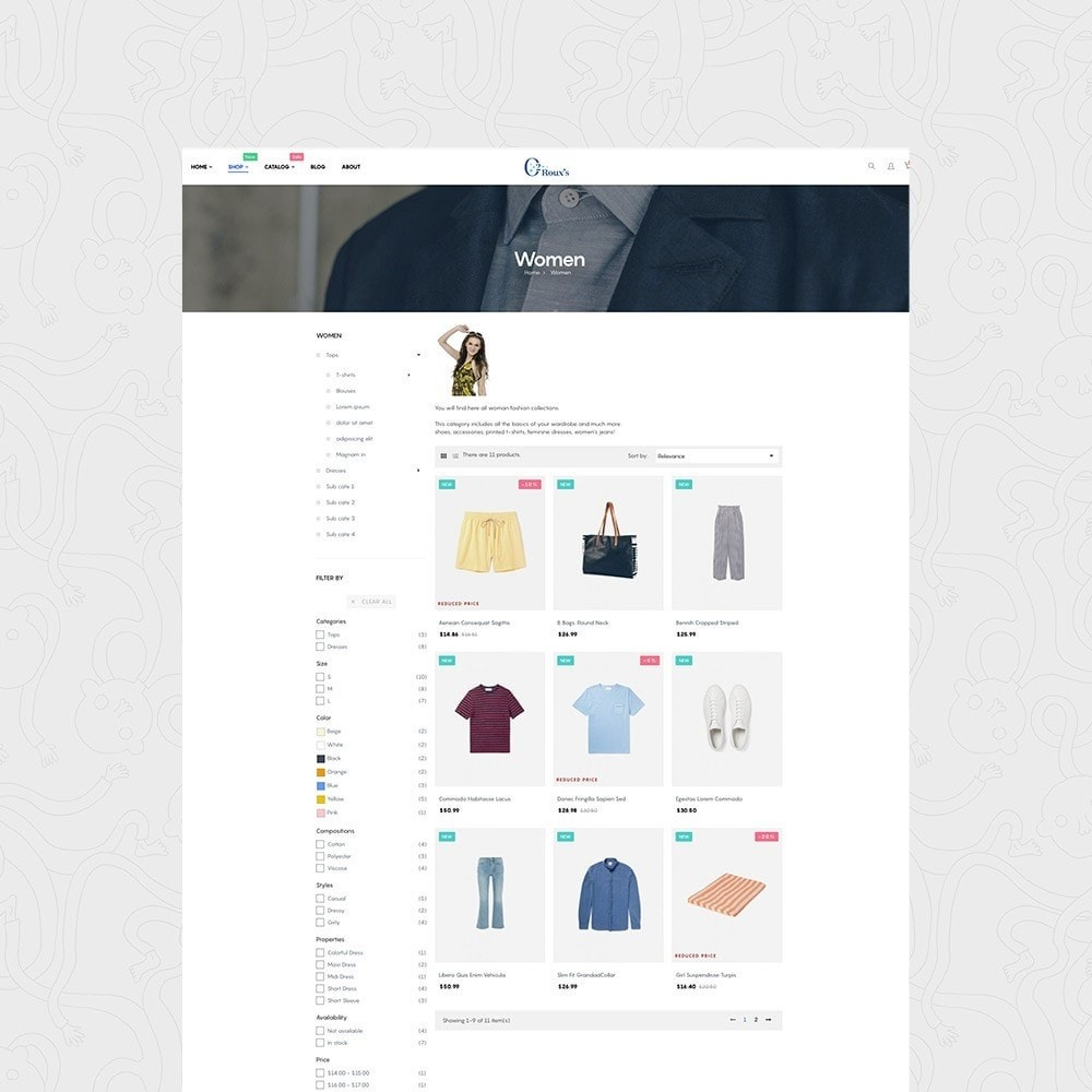 O2 Fashion Store Responsive Multiple Prestashop Theme