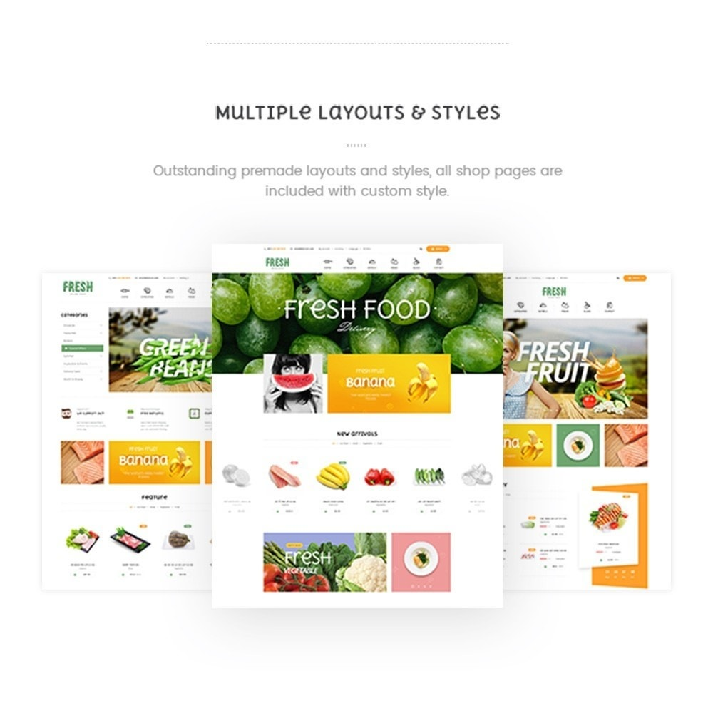 theme - Alimentation & Restauration - Pts Fresh2 - 1