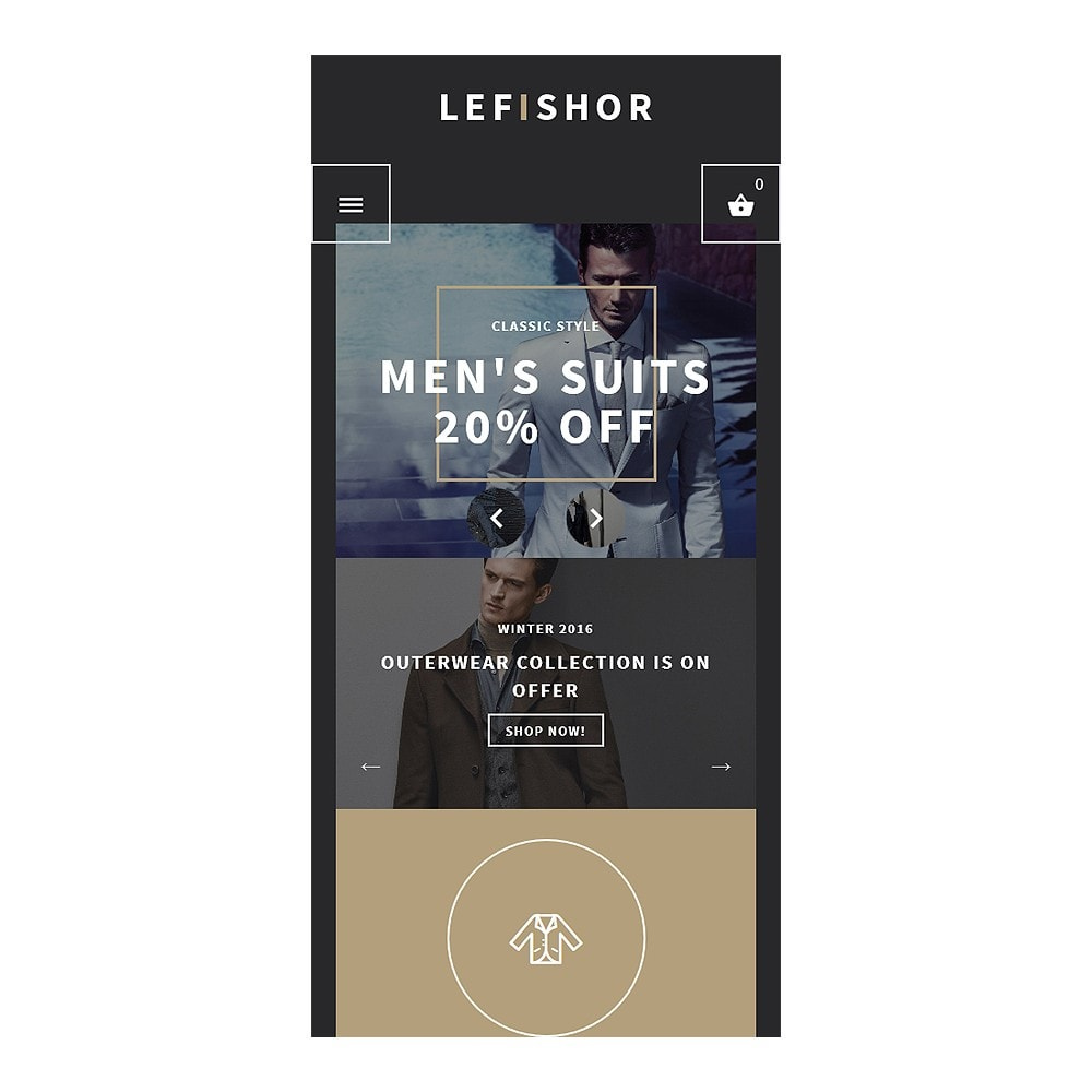 theme - Moda & Calzature - Lefishor - Men's Clothes  Accessories - 9