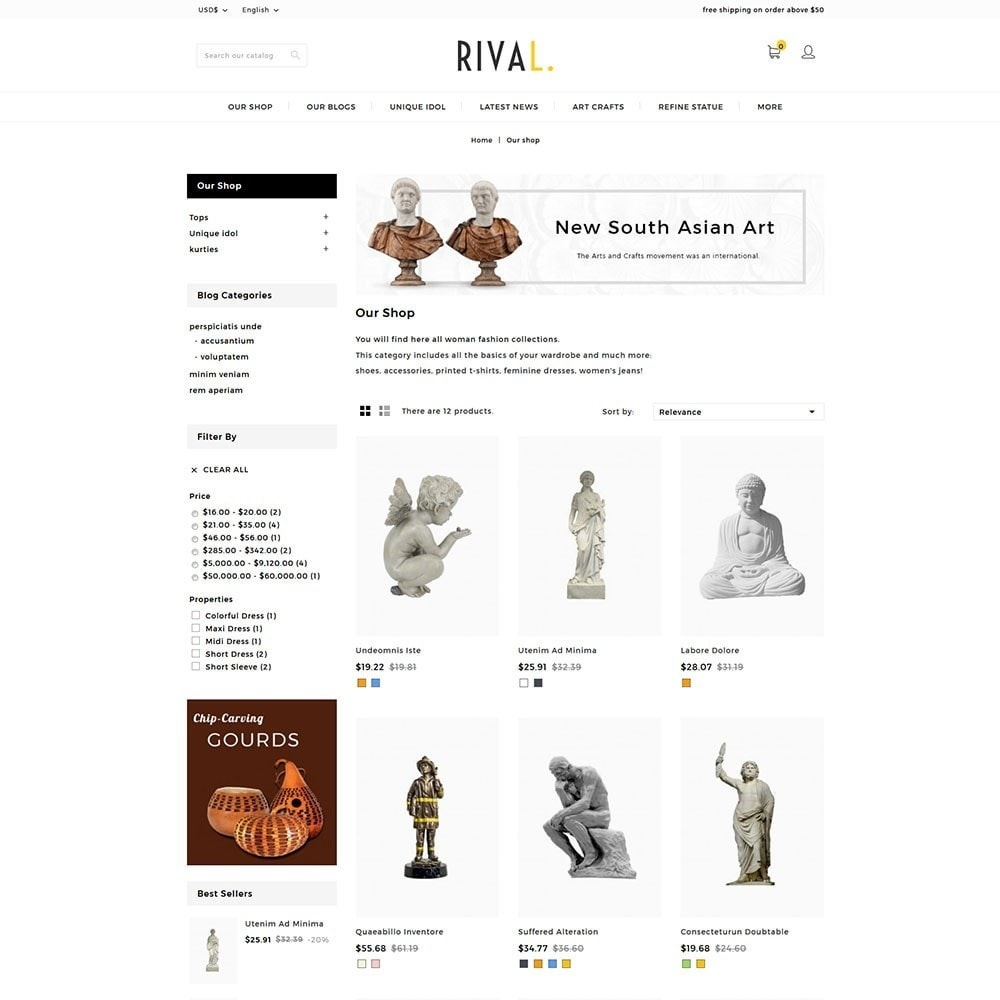Rival Art & Craft Store