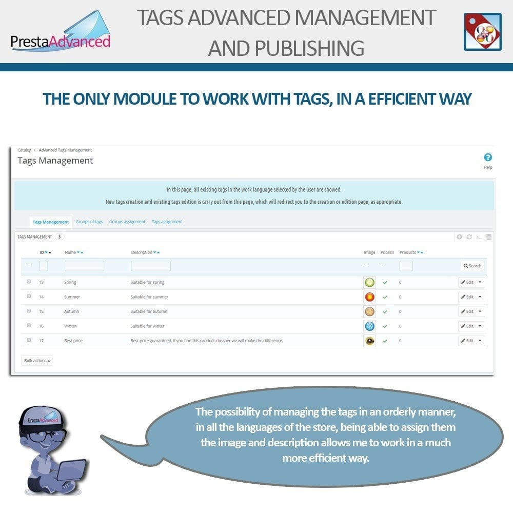 module - Badges & Logos - Tags: Advanced Management and Publishing - 3