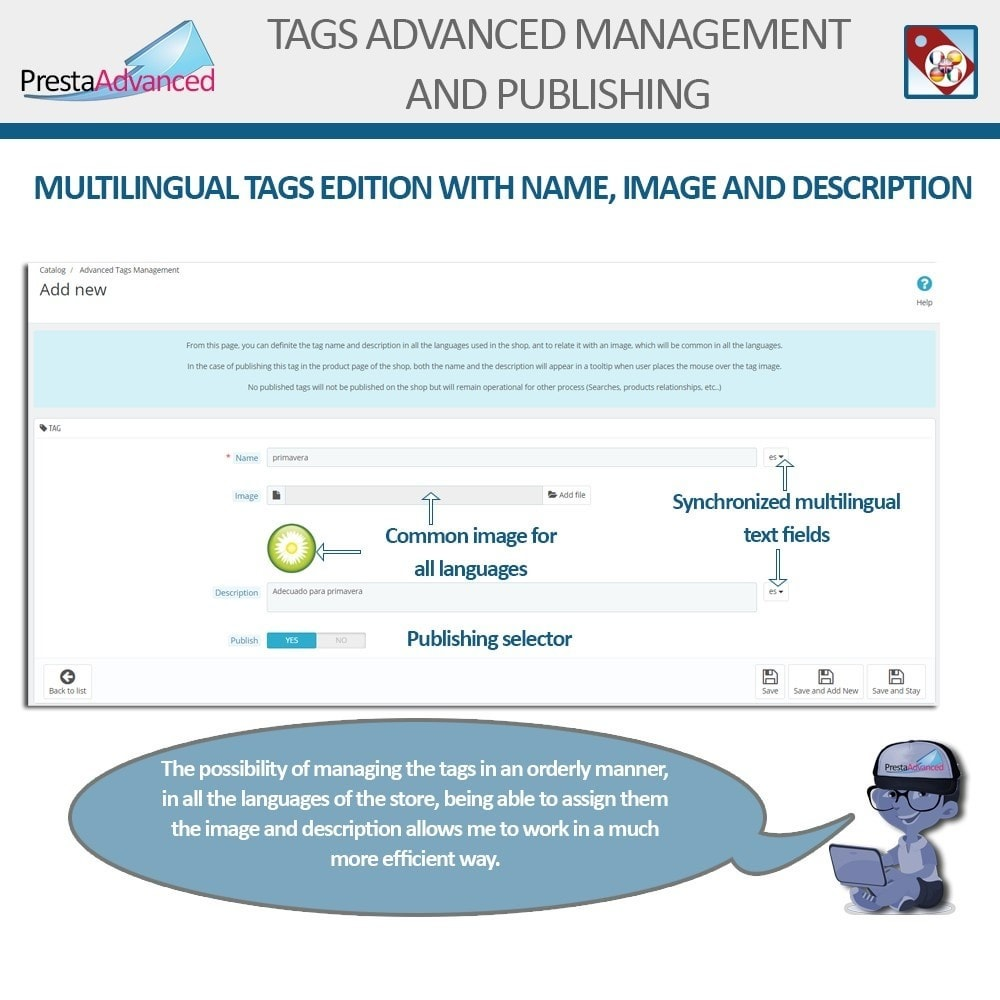 module - Badge & Loghi - Tags: Advanced Management and Publishing - 4