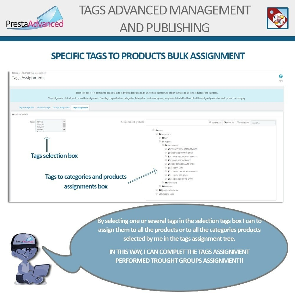 module - Odznaki & Logo - Tags: Advanced Management and Publishing - 9