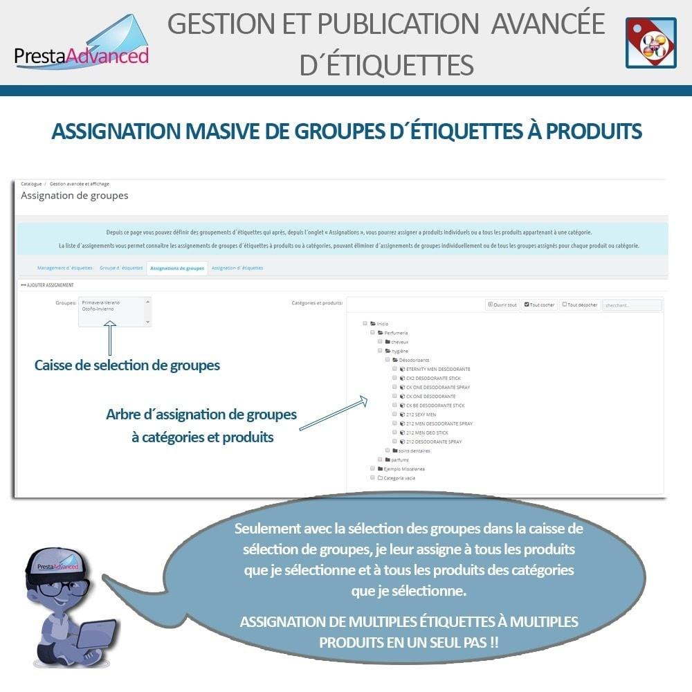 module - Etiquettes & Logos - Étiquettes: Gestion avancée et Publication - 7