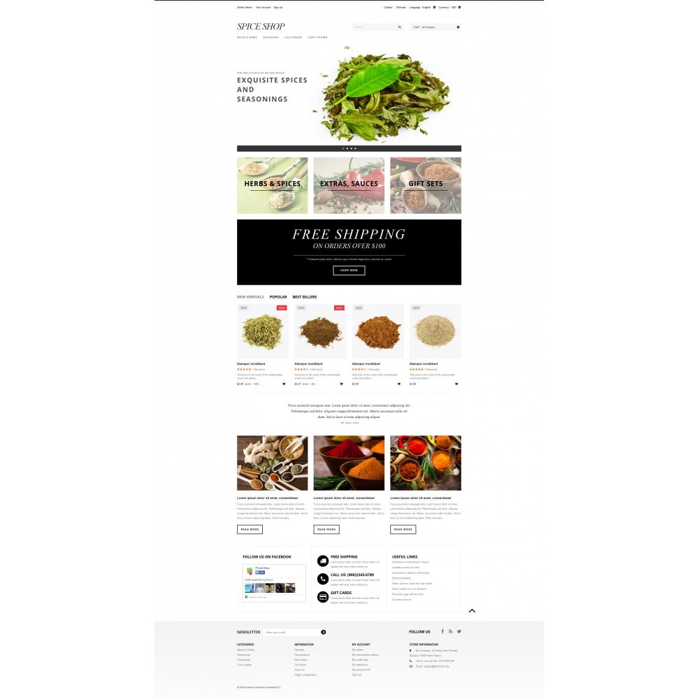theme - Eten & Restaurant - Spices and Seasonings - 4