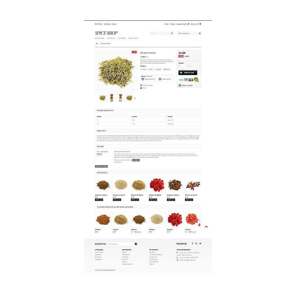 theme - Eten & Restaurant - Spices and Seasonings - 6