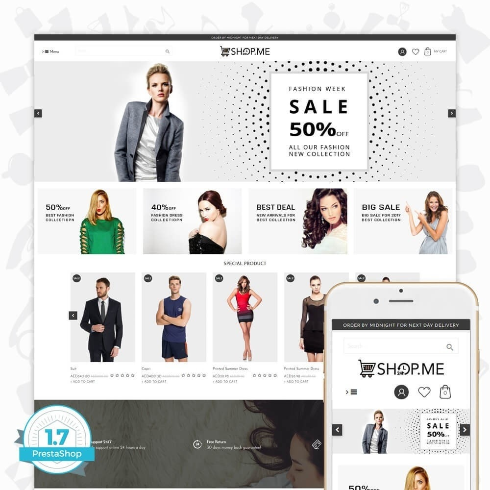 theme - Moda & Calzature - ShopMe V3 - 1