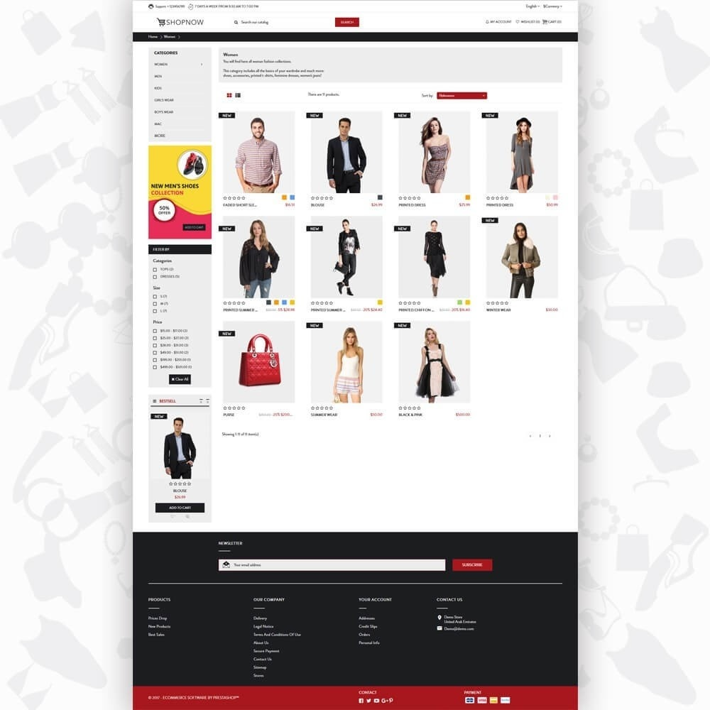 theme - Moda & Calzature - ShopNow V1 Fashion - 3
