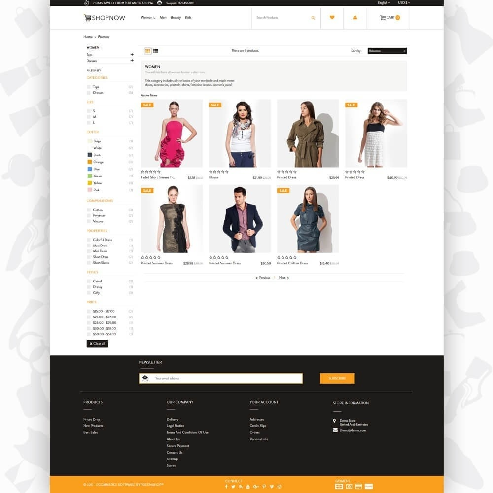 theme - Moda & Calzature - ShopNow V2 - Fashion - 3