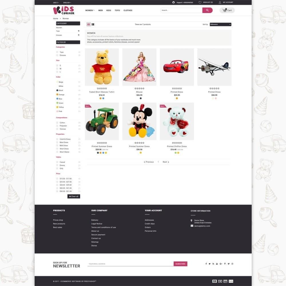 theme - Crianças & Brinquedos - Kids Corner - 3