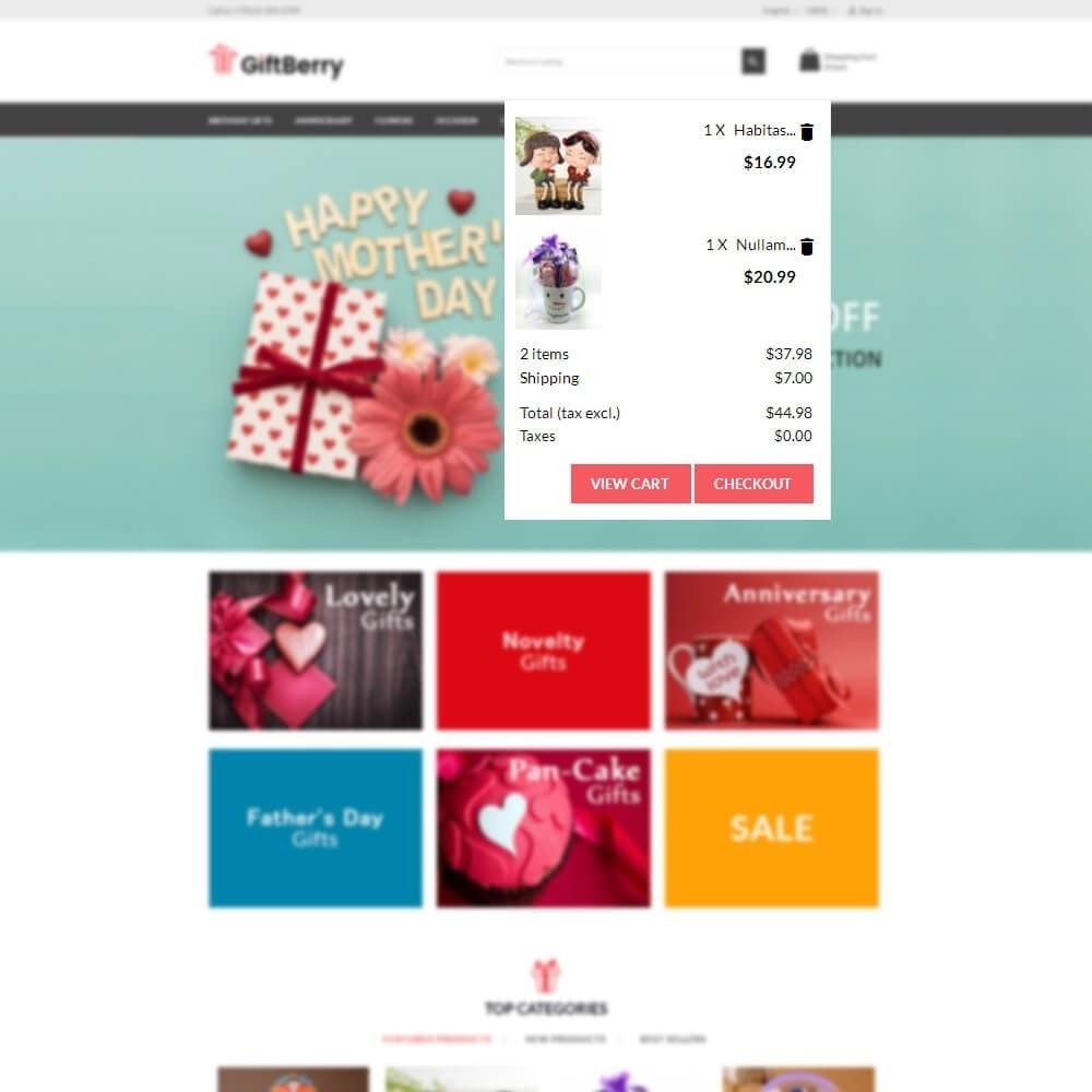 theme - Geschenke, Blumen & Feiern - Gift berry - 9