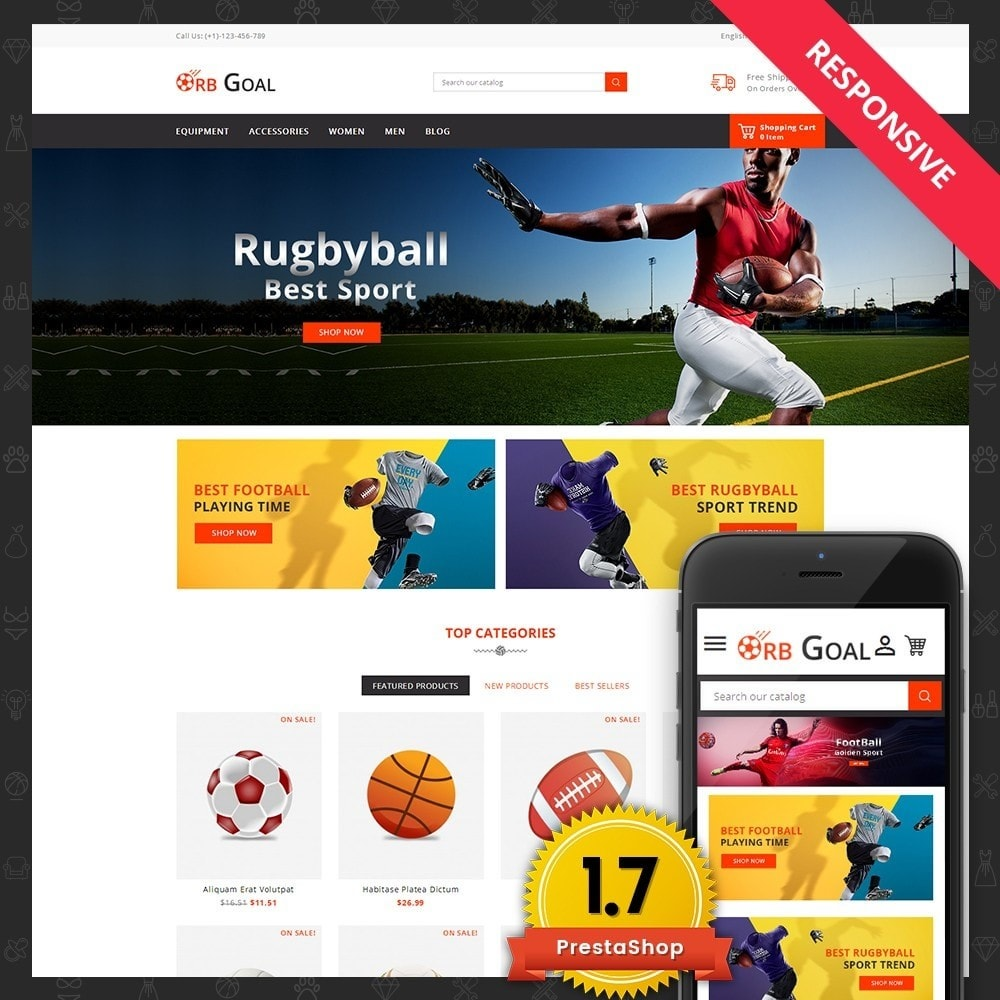 Orb Goal Sports Store