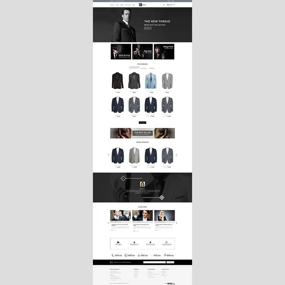 theme - Mode & Schoenen - Gsuit Fashion Store - 2