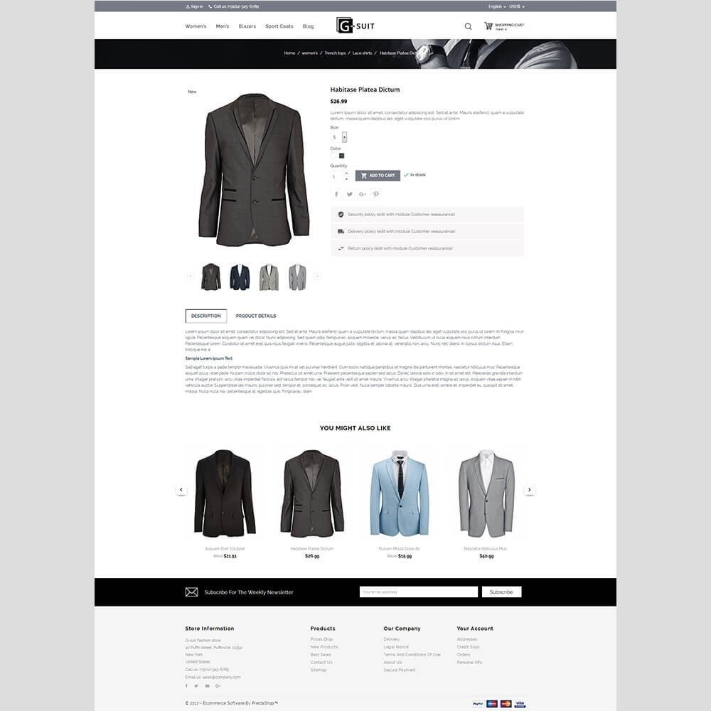 theme - Moda & Calzature - Gsuit Fashion Store - 3