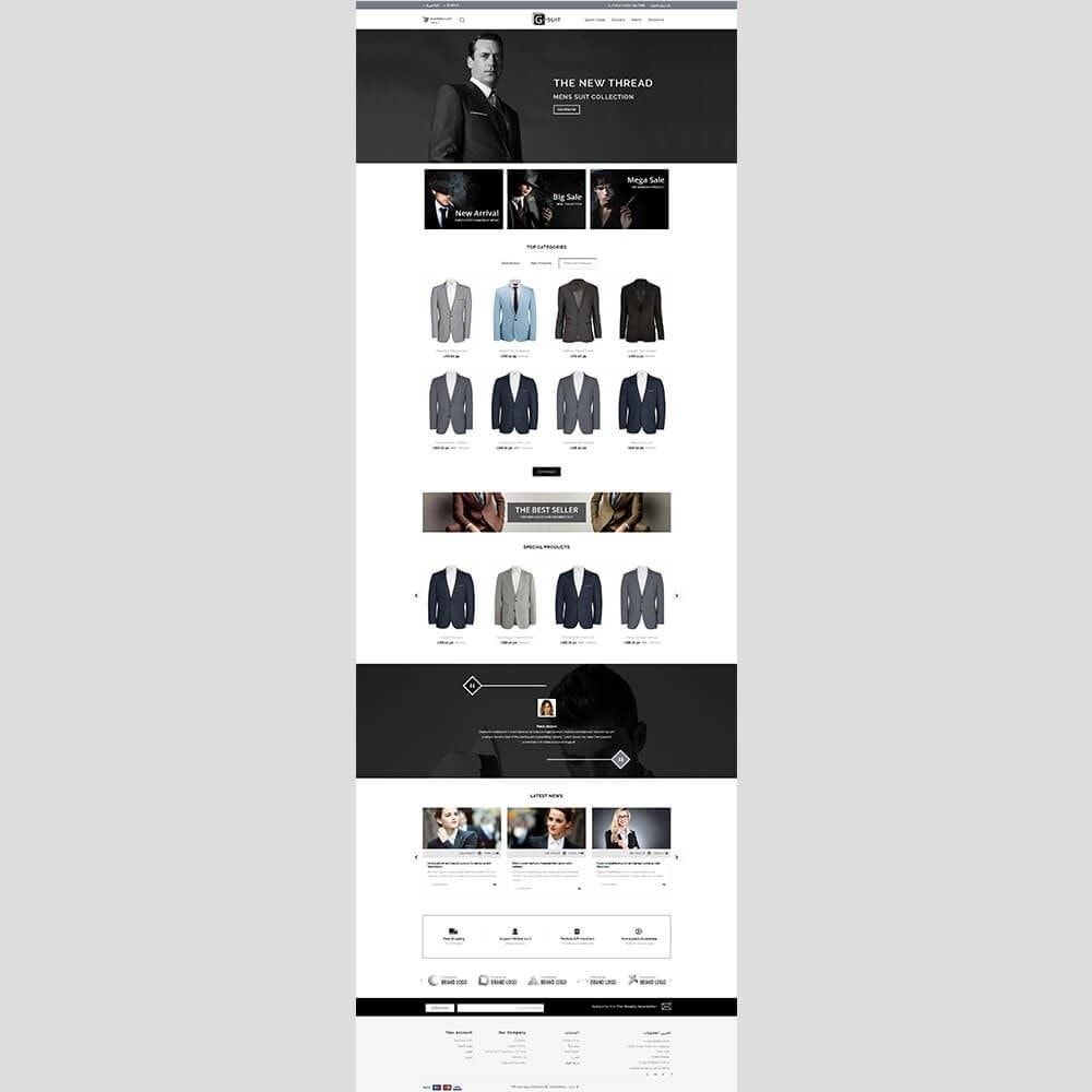 theme - Mode & Schoenen - Gsuit Fashion Store - 6