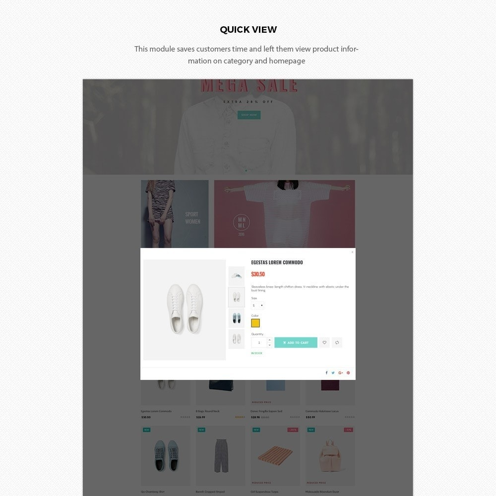 theme - Moda & Calzature - H2 Fashion Store Responsive Multiple Prestashop Theme - 6
