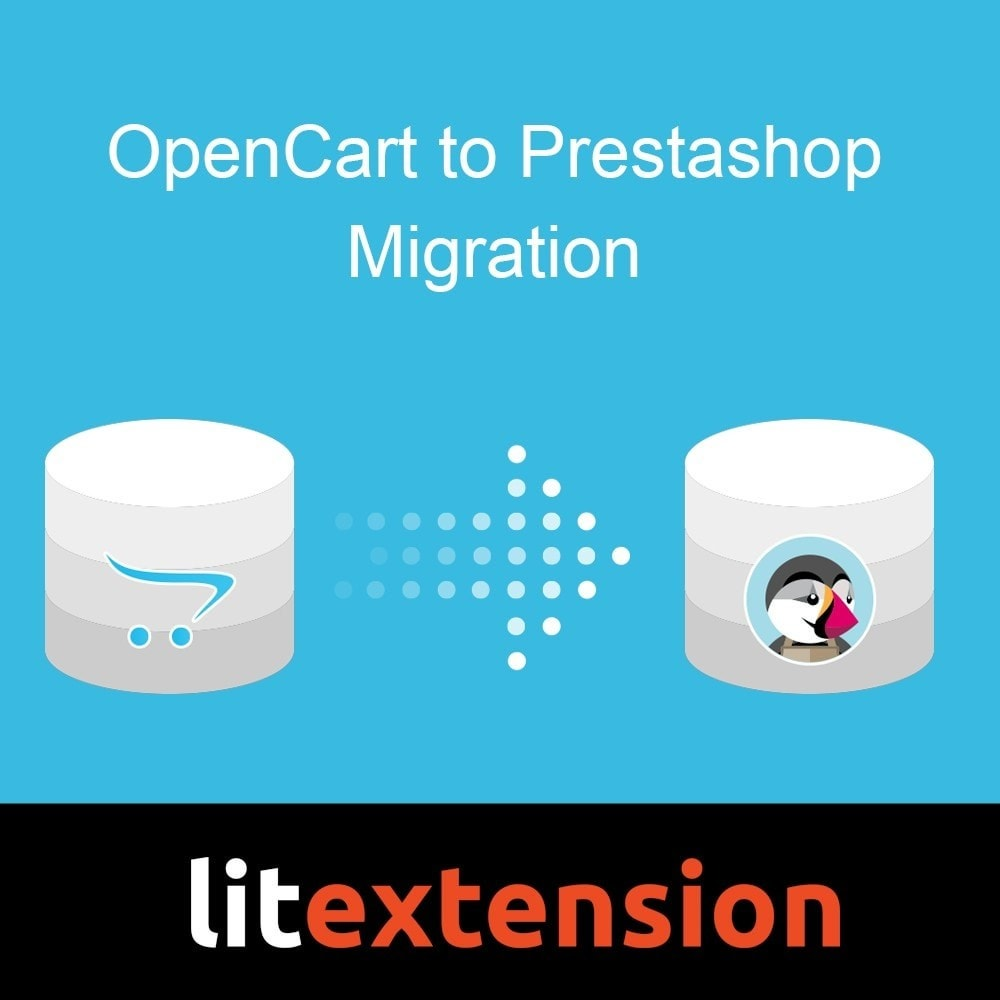 module - Data migration & Backup - LitExtension: OpenCart to Prestashop Migration - 1