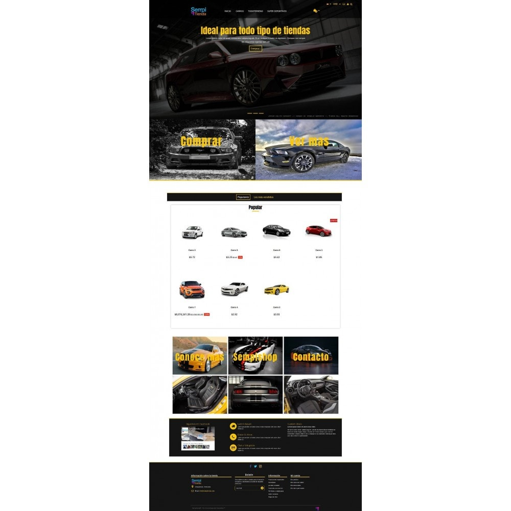 theme - Auto & Moto - Autoparts Multipurpose - 1