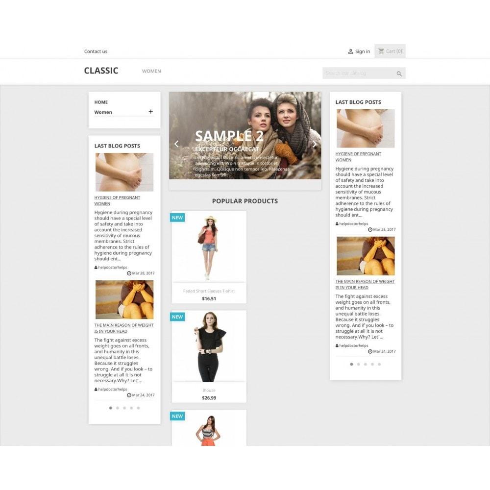 module - Блог, форумов и новостей - Block Last Wordpress Blog Posts - 1