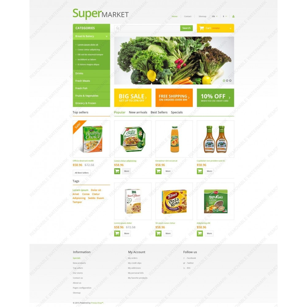 theme - Food & Restaurant - Supermarket - 3