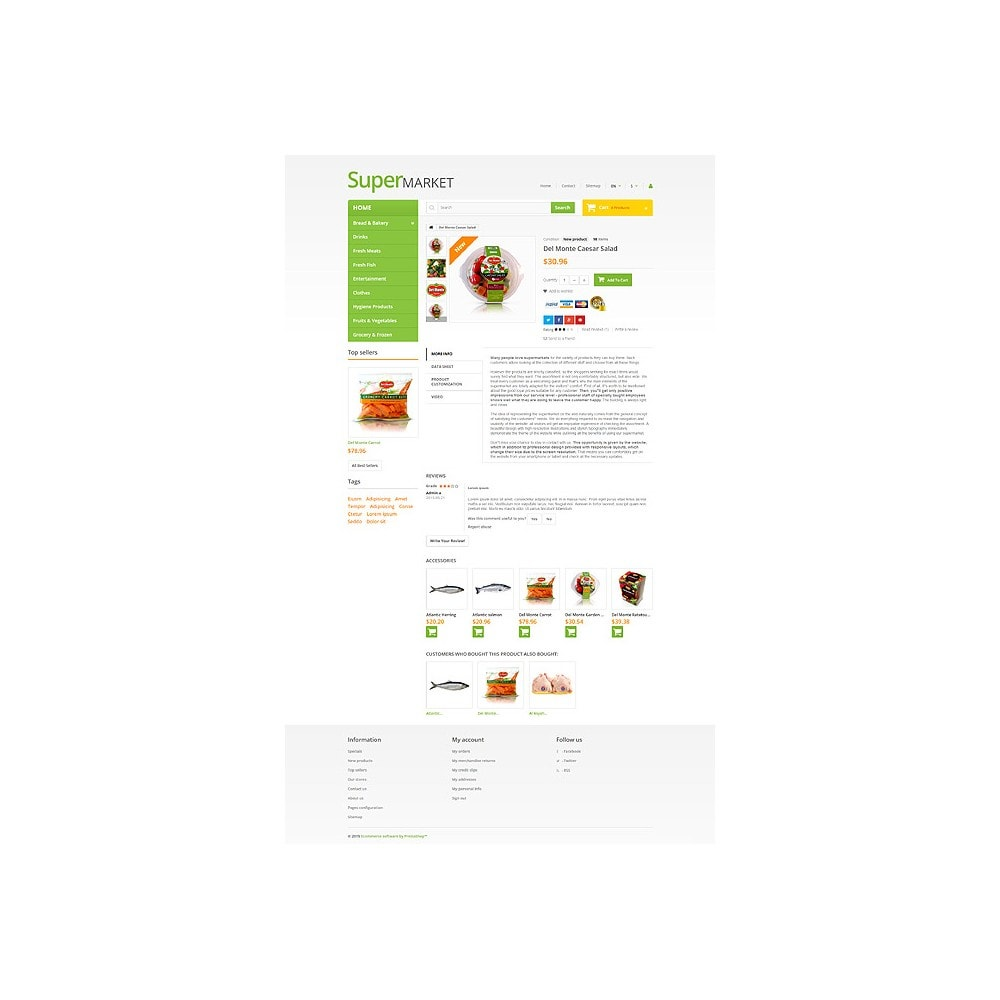 theme - Food & Restaurant - Supermarket - 6