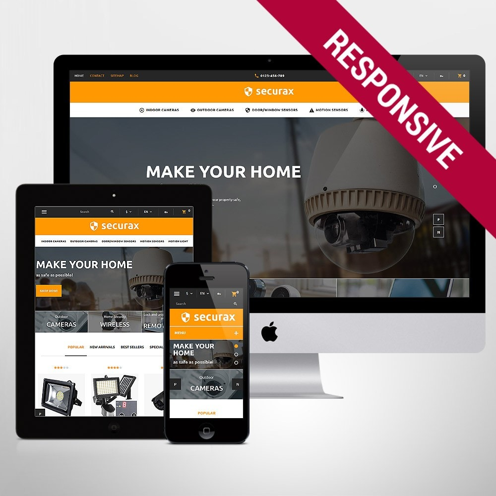 Securax - Security Systems Responsive