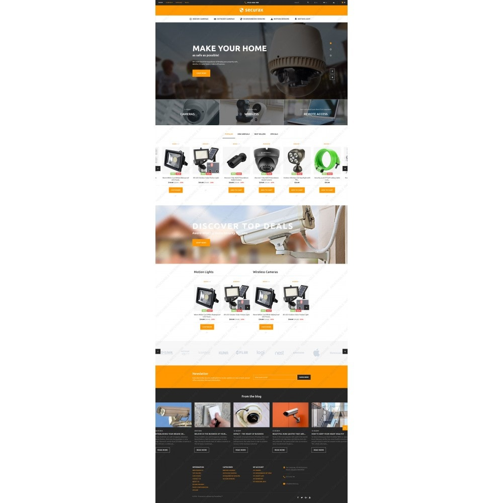 theme - Дом и сад - Securax - Security Systems Responsive - 5