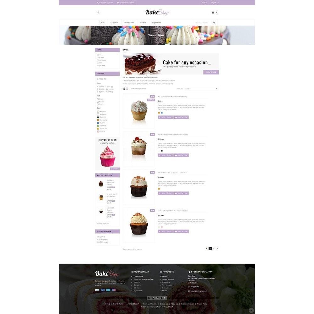 theme - Gastronomía y Restauración - Bake Shop - 4