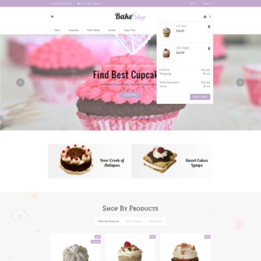 theme - Alimentation & Restauration - Bake Shop - 6