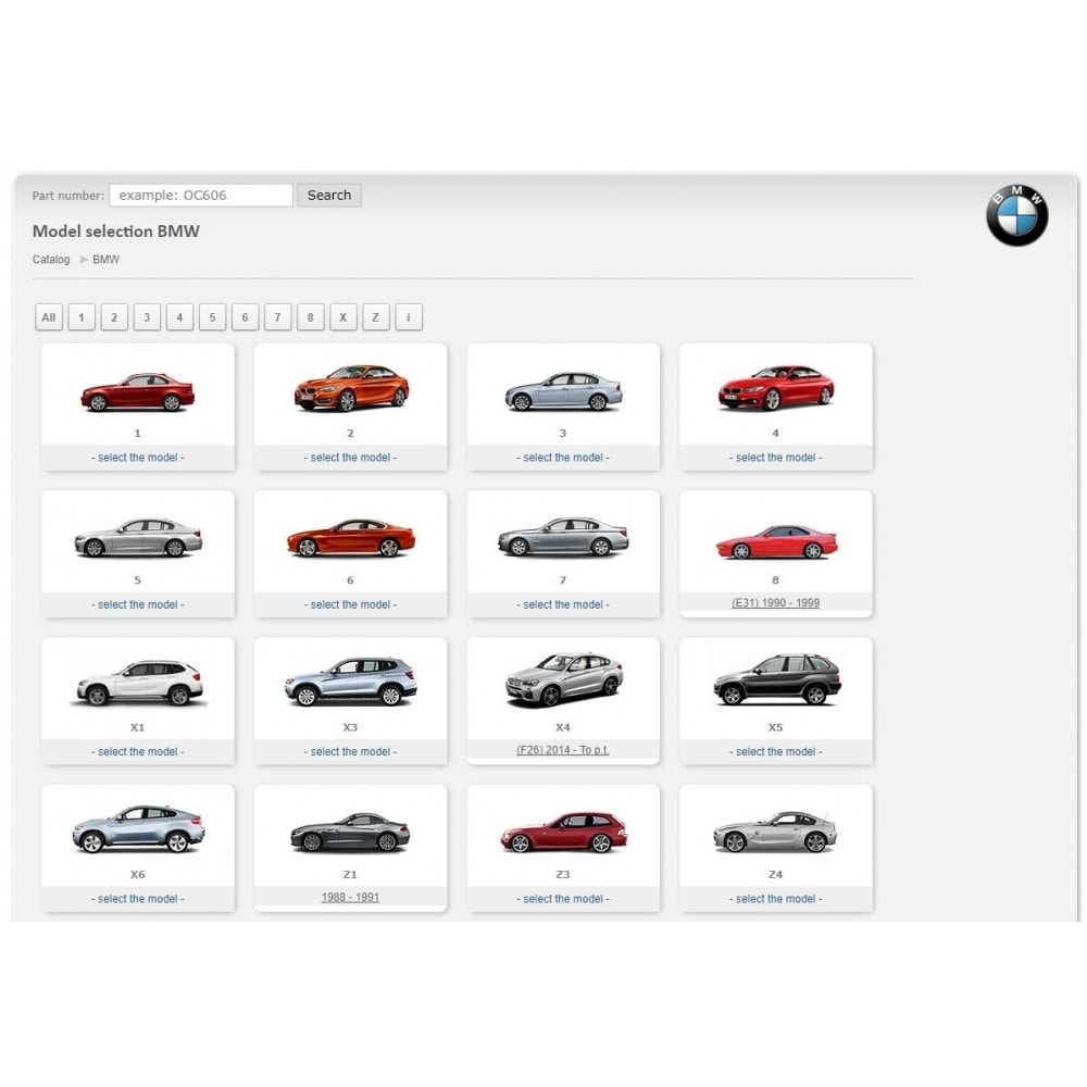 module - Fast & Mass Update - iTecDoc car parts search module  Web-catalog - 3
