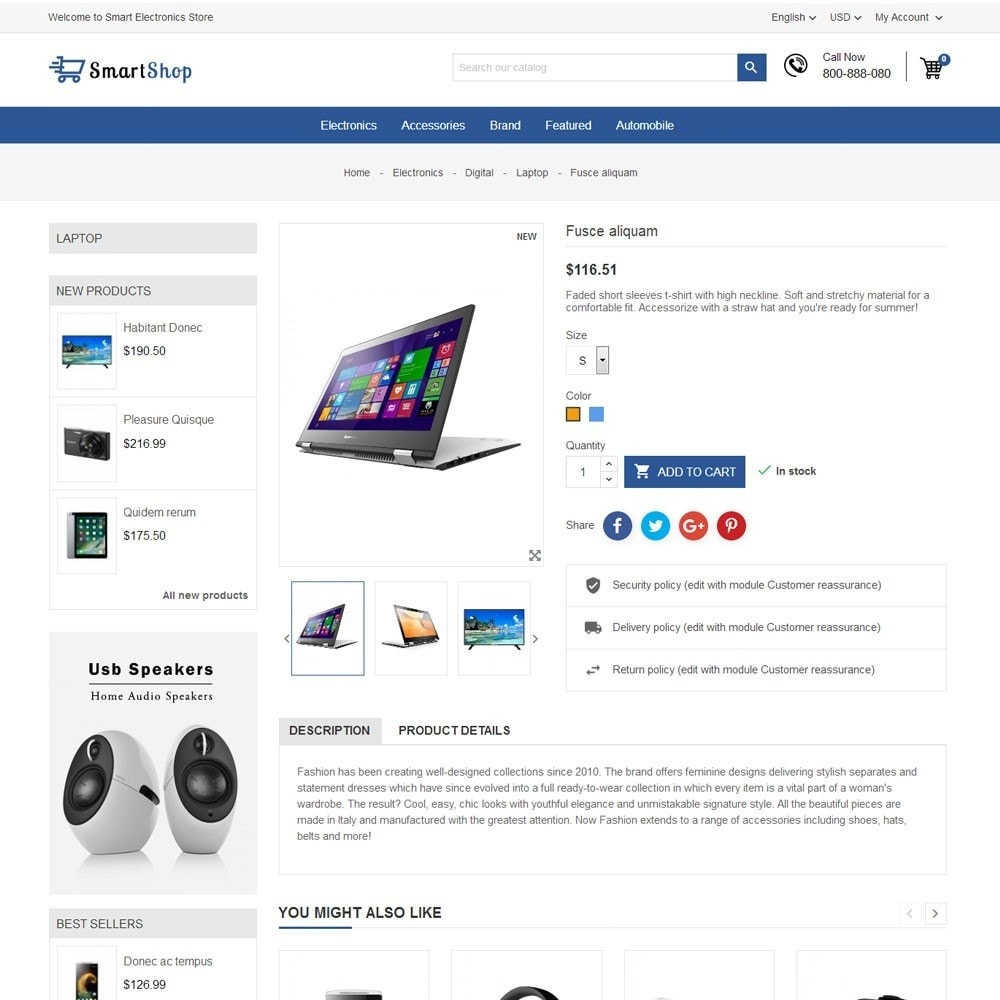theme - Elektronica & High Tech - Smart Electronics Store - 7