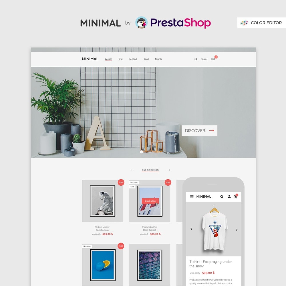 Minimal by PrestaShop - Estilo & Decoración