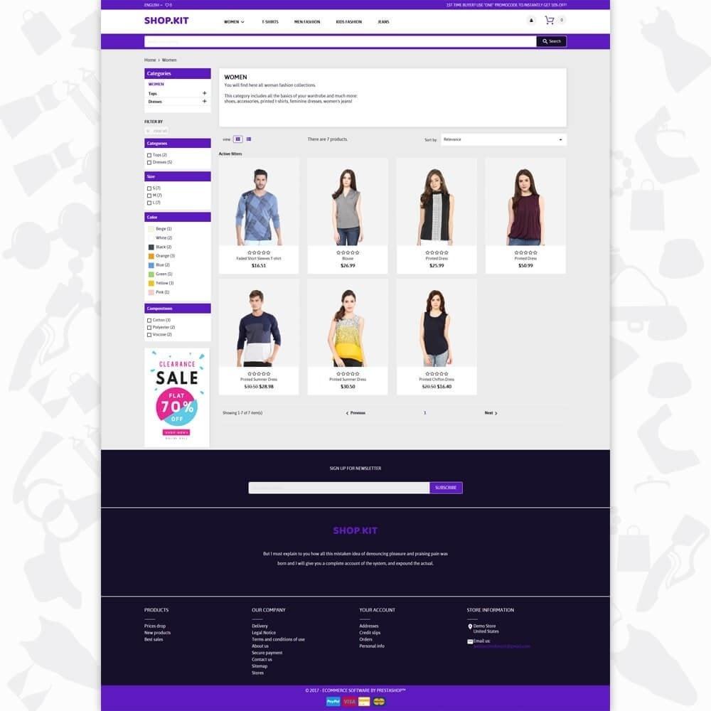 Shopkit Fashion