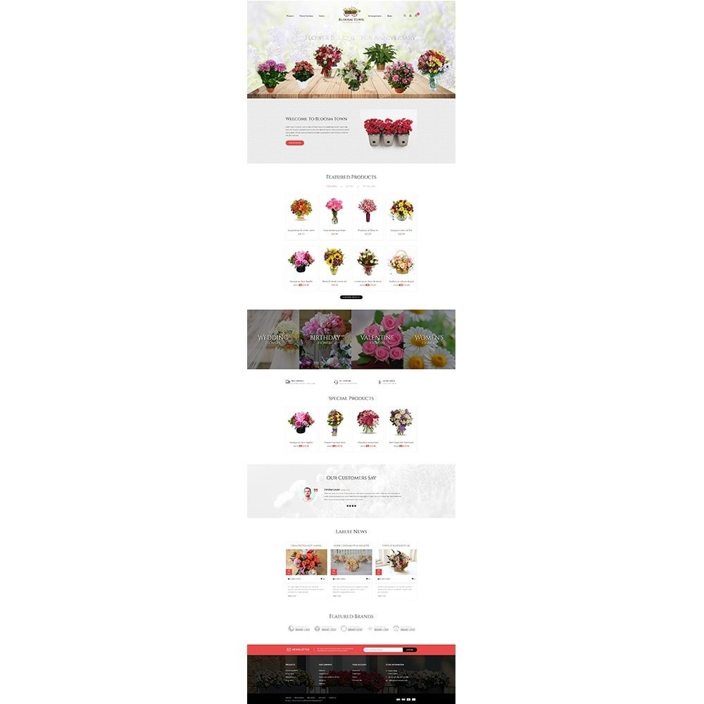 theme - Gifts, Flowers & Celebrations - Flowershop Store - 2