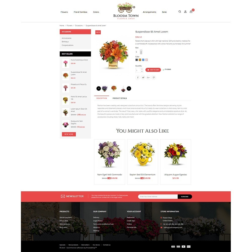 theme - Gifts, Flowers & Celebrations - Flowershop Store - 5