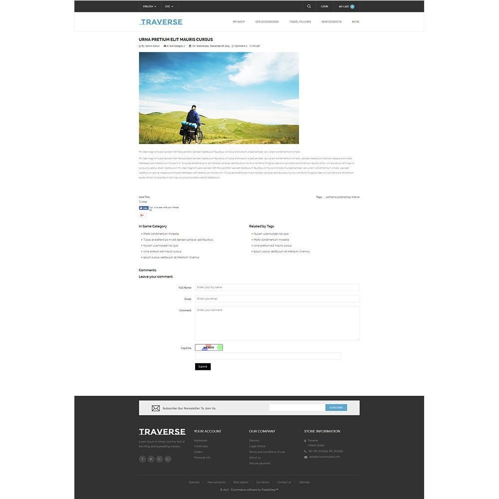 theme - Sports, Activities & Travel - Traverse Store - 8