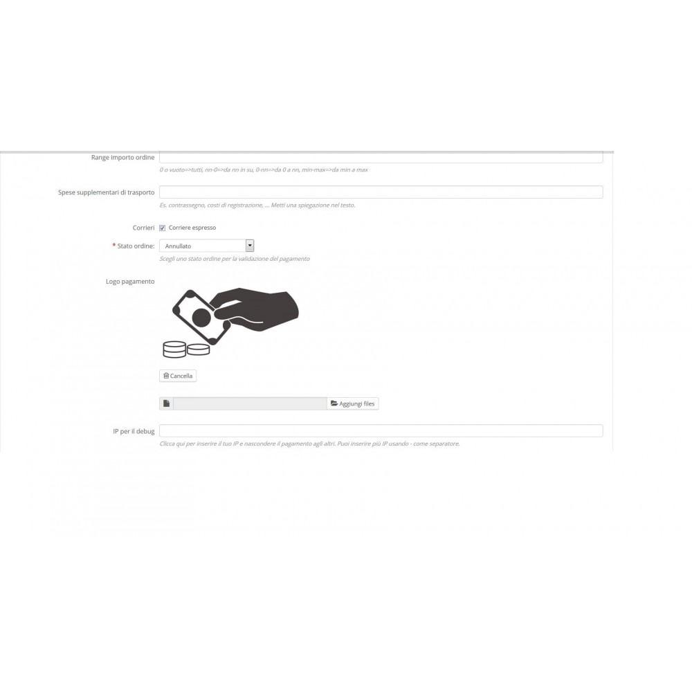 module - Altri Metodi di Pagamento - Pagamenti generici personalizzati - 2