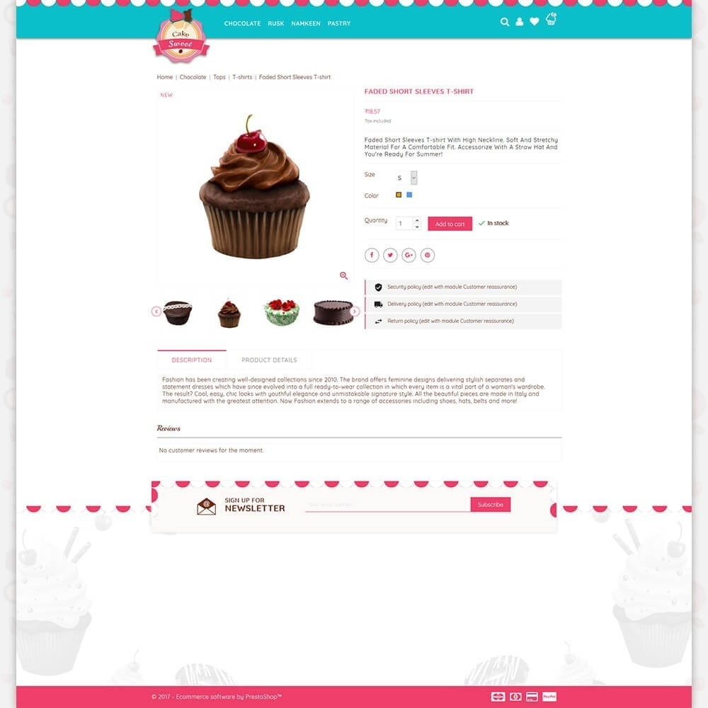 theme - Lebensmittel & Restaurants - Cake Store - 5